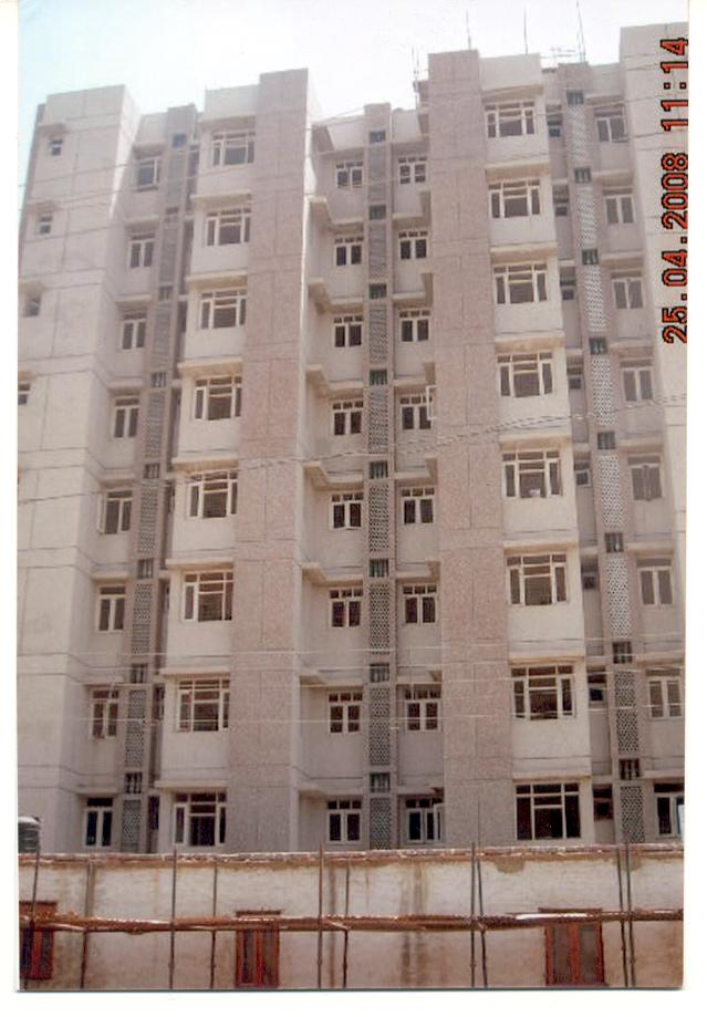 A view of the completed Gurgaon - IV Housing scheme